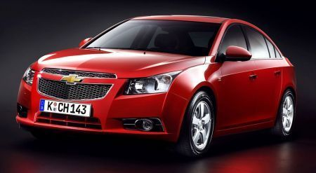 Crash Test: Chevrolet Cruze