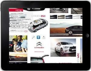 Citroen Survolt protagonista su iPad e iPhone