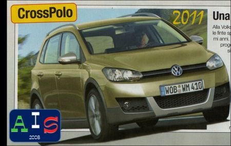 Volkswagen Polo Cross: foto spia