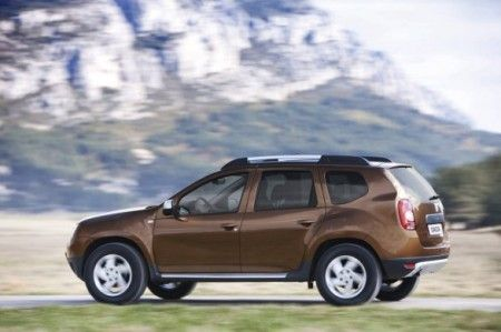 Dacia Duster, prezzi Model Year 2011