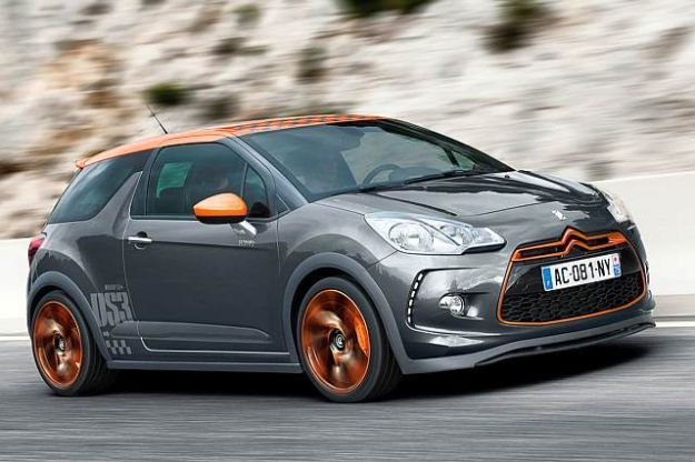 Citroen DS3 Racing, nuove versioni