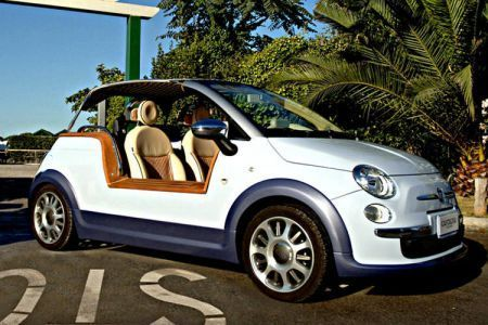 Nuova Fiat 500 Tender Two by Castagna: anteprima