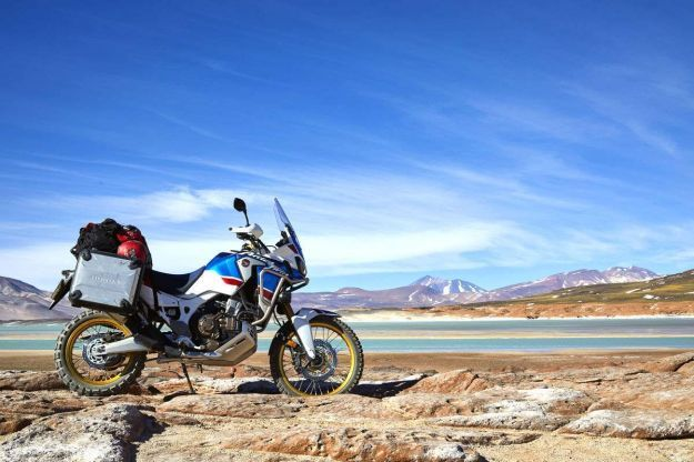 honda crf1000l africa twin adventure sport panorama