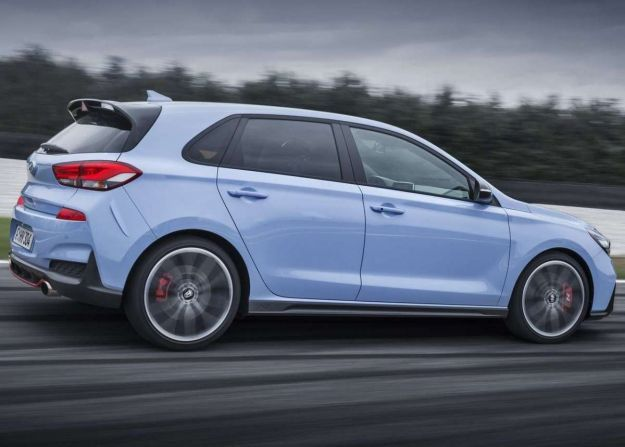 hyundai i30 n col turbocompressore