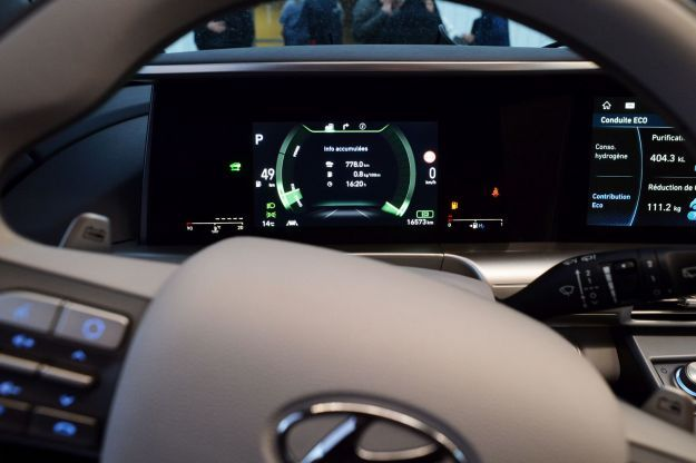 hyundai nexo display