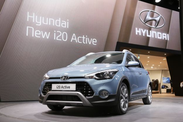 i20 Active fronte