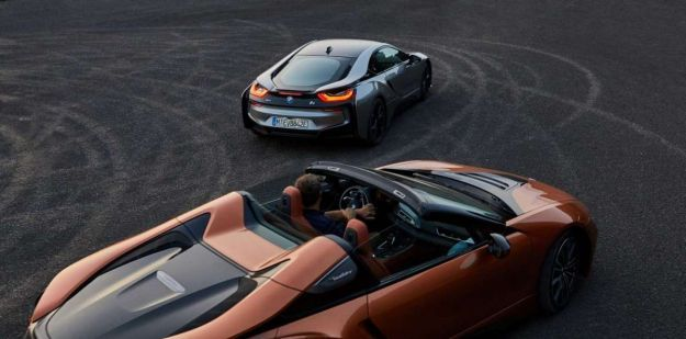 ibrida bmw i8 roadster 2018