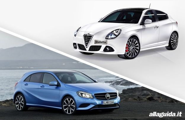 Alfa Romeo Giulietta vs Mercedes Classe A 2012: confronto Italia – Germania [FOTO e VIDEO]
