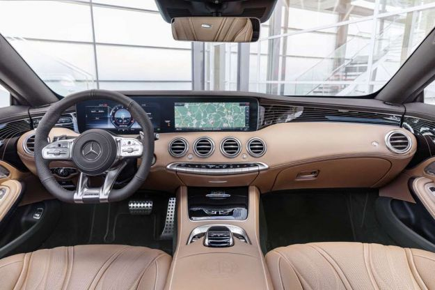 mercedes amg s 65 coupe 2018 plancia