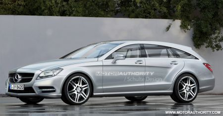 Mercedes CLS Shooting Brake: render