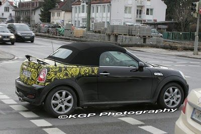 Mini Roadster, foto spia