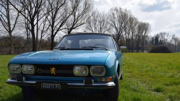 peugeot 504 cabriolet frontale