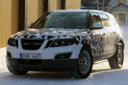 Saab 9-4X al Salone di Los Angeles 2010