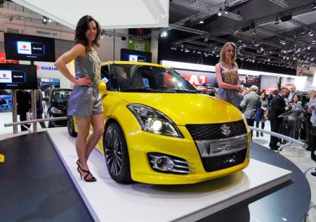 Suzuki Swift S al Salone di Melbourne 2011