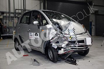 Tata Nano: interessanti le prove al crash test