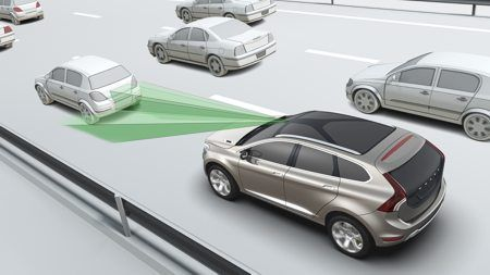 Volvo City Safety certificato EuroNCAP Advanced
