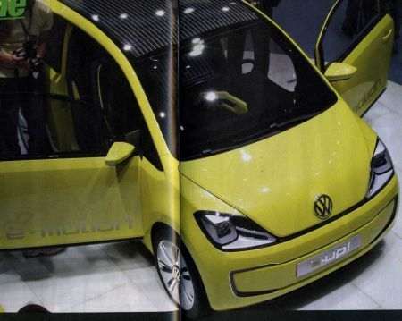 Volkswagen E-UP: la city car elettrica tedesca