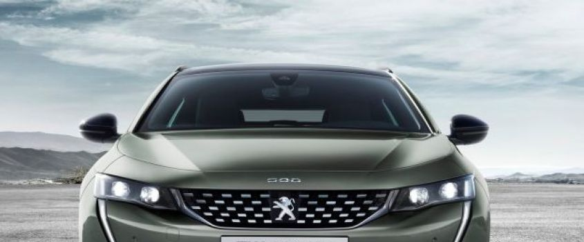 Peugeot 508 Station Wagon: design distintivo